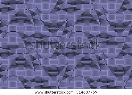 Abstract, endless, geometric, wavy texture pattern