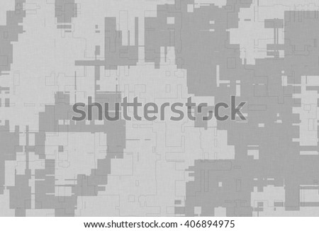 Abstract endless repetitive texture camouflage - stock photo