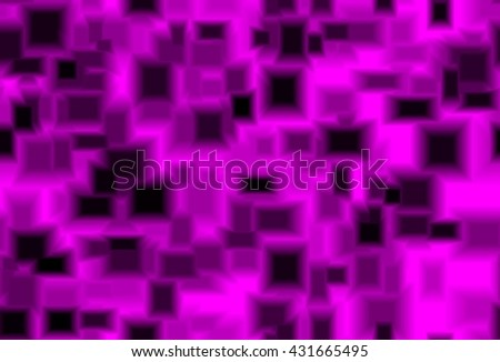 Abstract endless repetitive texture truncated pyramid