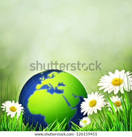 Abstract environmental backgrounds for your design - stock photo