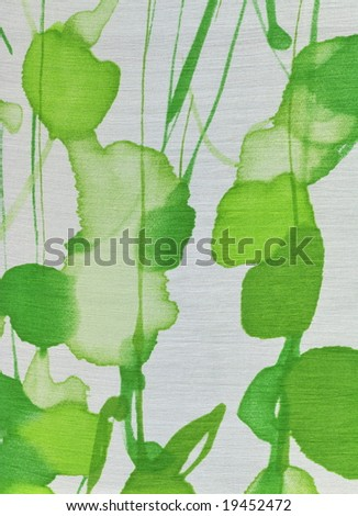 Abstract fabric, stained or stamped pattern. More fabrics in my port. - stock photo