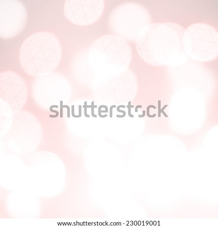Abstract Festive background. Christmas and New Year feast bokeh background with copyspace. Holiday party background with blurry boke special magic effect. - stock photo