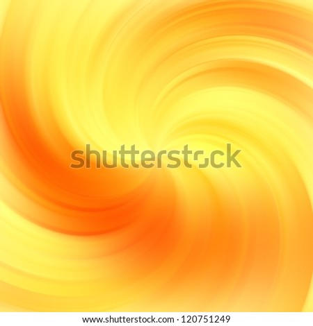 Abstract fire colors rotating swirl background - stock photo