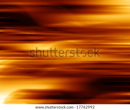 abstract fire with yellow and orange flames
