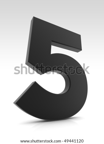 abstract five - stock photo