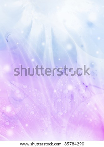 Abstract floral background, beautiful flowers collage, colorful holiday pattern - stock photo