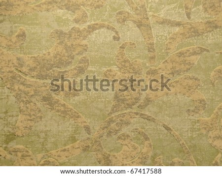 Abstract floral embossed grungy background. More of this motif & more backgrounds in my port. - stock photo