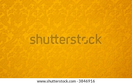 Abstract floral fabric pattern - stock photo