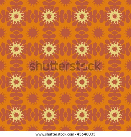 abstract floral seamless pattern