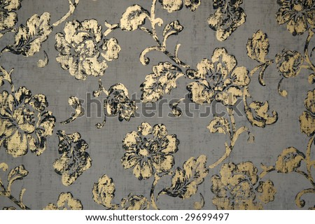 Abstract floral vintage background - stock photo