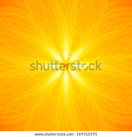 abstract floral yellow background