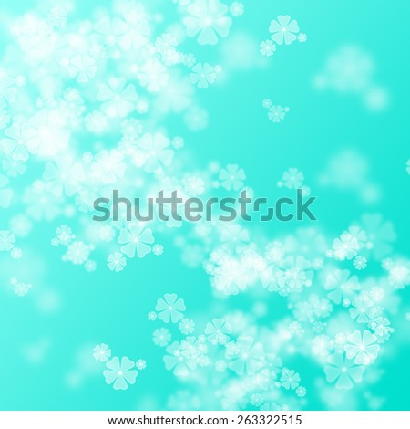 abstract flower blurry background - stock photo