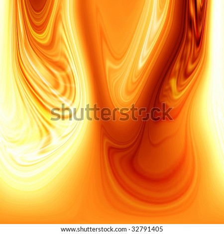 Abstract flowing fire background with some smooth lines in it