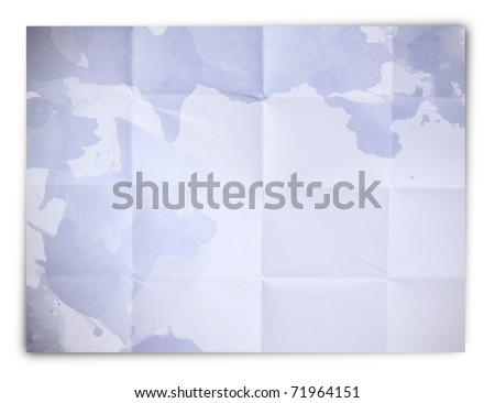 abstract folded paper - stock photo