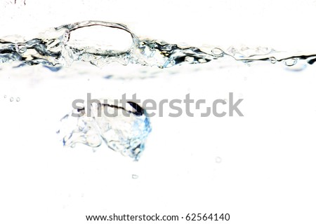 abstract forms on the white background
