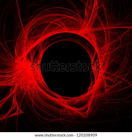 abstract fractal background - stock photo