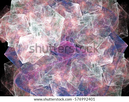 Abstract fractal background. Design element for brochure, advertisements, flyer, web and other graphic designer works.