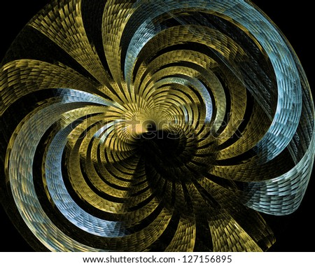 abstract fractal background  for art projects - stock photo