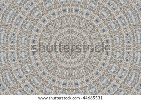 Abstract fractal background (made from image of Basilica del Voto Nacional in Quito, Ecuador) - stock photo