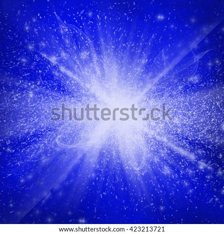 Abstract fractal flame background - stock photo