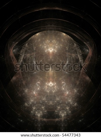 Abstract fractal flame background image