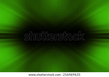 Abstract fractal green background - stock photo