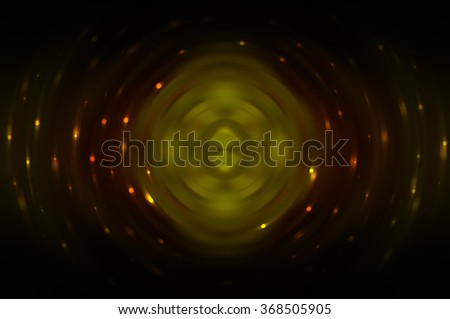 Abstract fractal multicolored background with crossing circles and ovals. disco lights background.