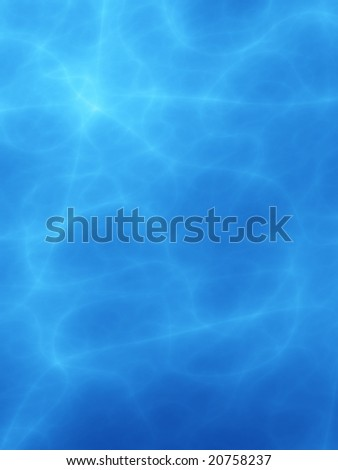 Abstract fractal that simulates water in a swimming pool - stock photo