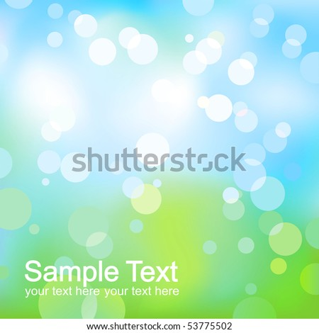 Abstract fresh light background. - stock photo