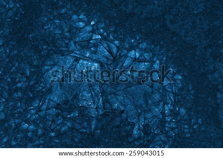 abstract frozen background of ice, x-ray effect