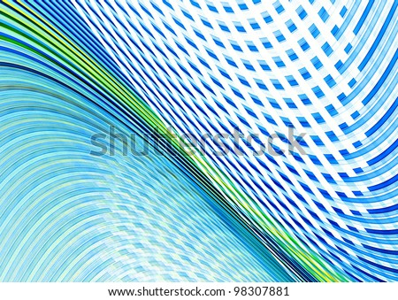 abstract funky blue background texture - stock photo