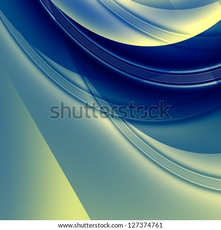 Abstract futuristic background. For creative layout design, scientific illustrations, and web site wallpaper or texture - stock photo