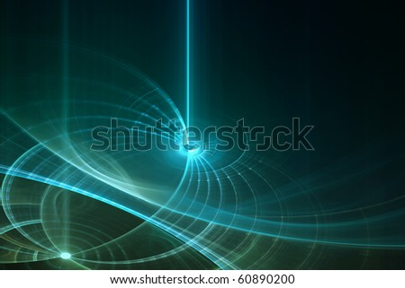 Abstract futuristic background with empty space for text - stock photo