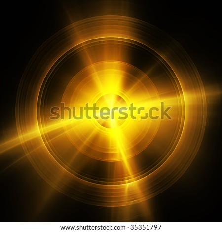 Abstract futuristic fractal background