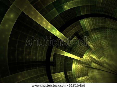 abstract futuristic green background texture - stock photo