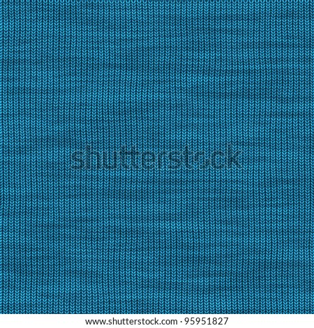 Abstract generated knitting pattern for background and design - stock photo