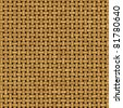 Abstract generated wicker pattern for background and design - stock photo