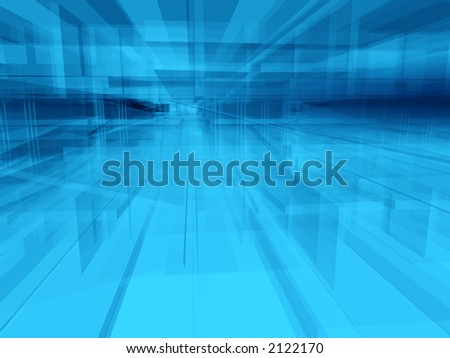 Abstract geometric architectural structure background - stock photo