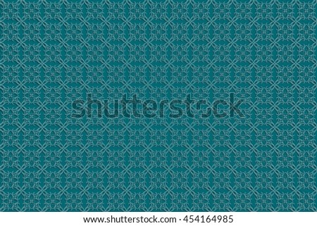 Abstract geometric background. Based on ethnic ornaments. Intertwined paper stripes. Elegant background for cards, invitations etc. Raster version - stock photo