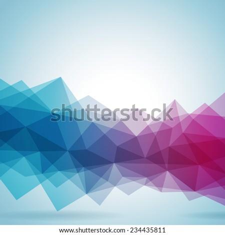 Abstract geometric background design. JPG version. - stock photo