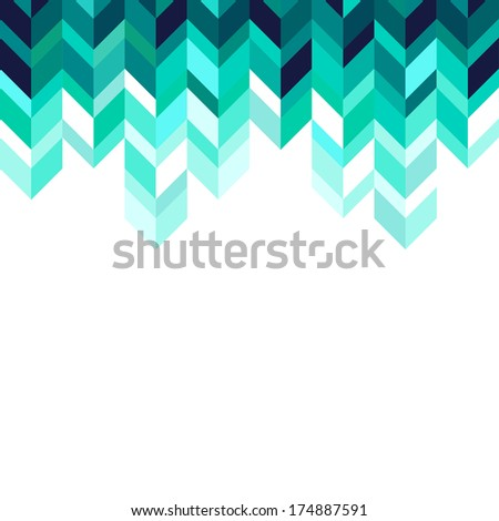 Abstract, geometric background, emerald , spectrum - stock photo