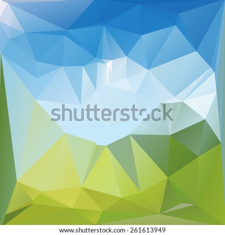 Abstract geometric background for use in design - raster version illustration - stock photo