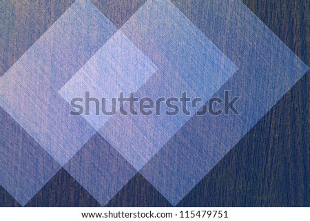 Abstract geometric background of blue. - stock photo
