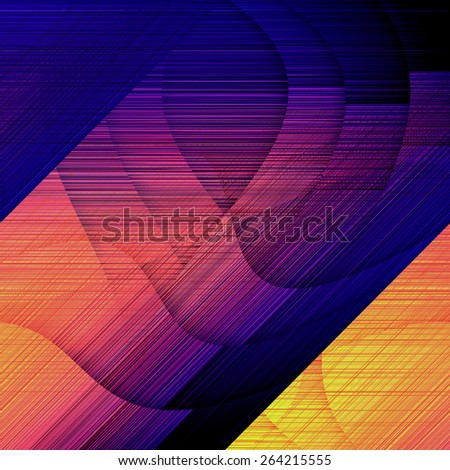 abstract geometric background of colored lines - stock photo
