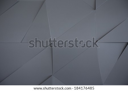 Abstract geometric background of the wall - stock photo