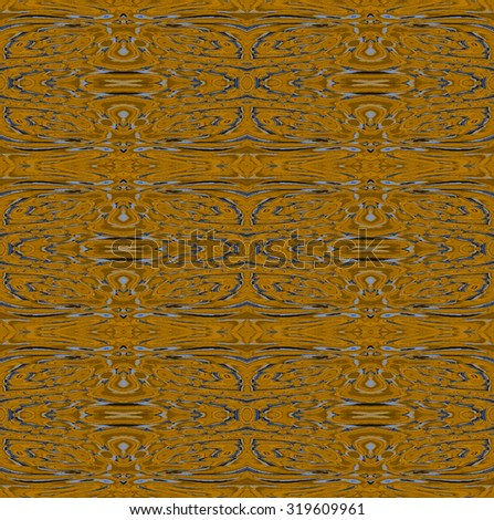 Abstract geometric background, seamless pattern brown, wood structure - stock photo