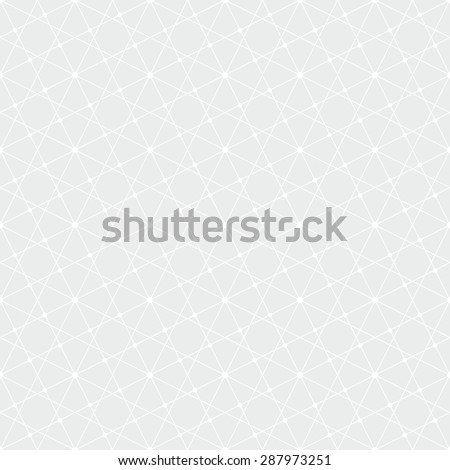 Abstract geometric pattern by lines,squares . A seamless background. Gray and white texture. - stock photo