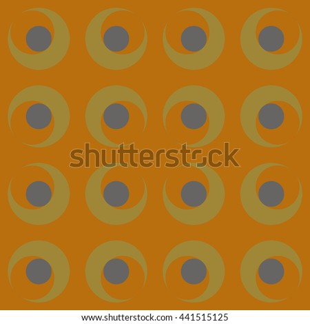 Abstract geometric pattern composed
