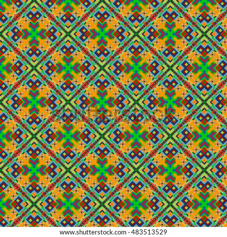 abstract geometric pattern of triangles and squares pattern