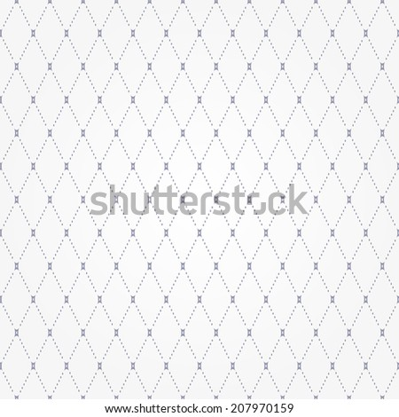 Abstract geometric pattern with rhombuses. Repeating seamless background. Gray and white texture.